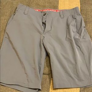 Grey UA Golf shorts
